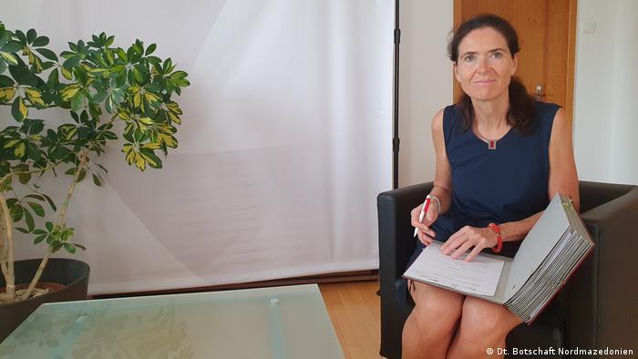Deutsche Botschafterin in Nord-Mazedonien Anke Holstein (Dt. Botschaft Nordmazedonien )