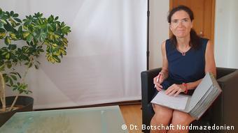 German Ambassador Anke Holstein (Dt. Botschaft Nordmazedonien )