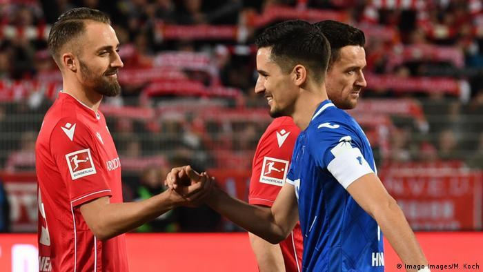 Fussball I 1. Bundesliga I 1. FC Union Berlin - TSG 1899 Hoffenheim (Imago Images/M. Koch)
