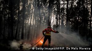 Portugal I Waldbrände in Isna I Castelo Branco