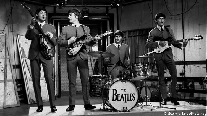 UK The Beatles 1963 (picture-alliance/Photoshot)