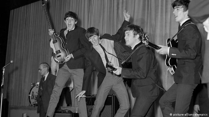 Paul, John, Ringo, George: die Beatles 1963 (picture-alliance/empics)