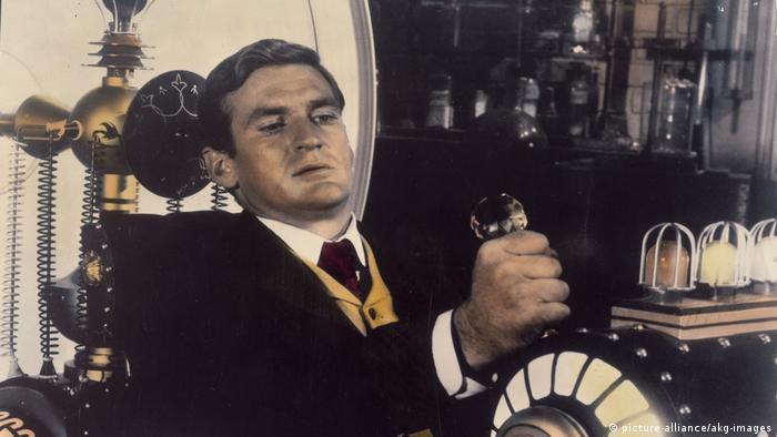 Imagen de La máquina del tiempo, con el protagonista Rod Taylor.