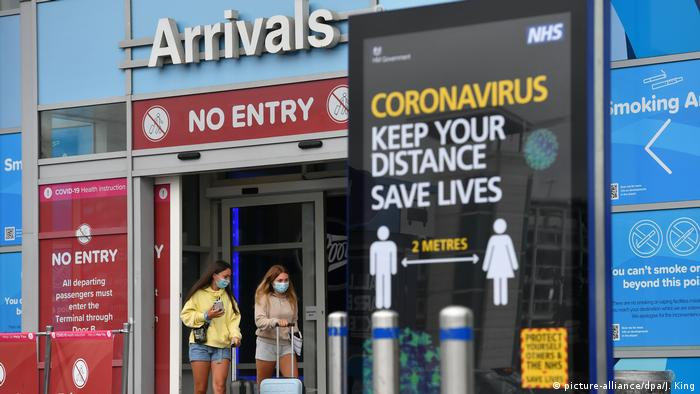 Spanien Corona-Pandemie   Tourismus   Rückkehrer in England