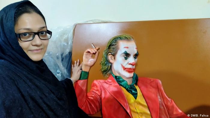 DW Urdu Blogerin Bushra Pahsa in Pakistan