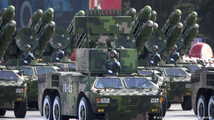 Militärparade Peking