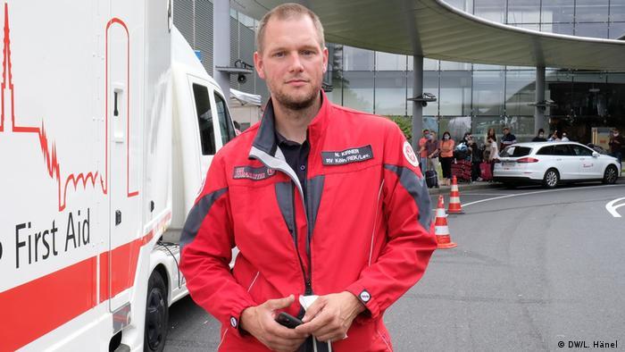 Nils Kirner conduce acest centru de testare (DW/L. Hänel )