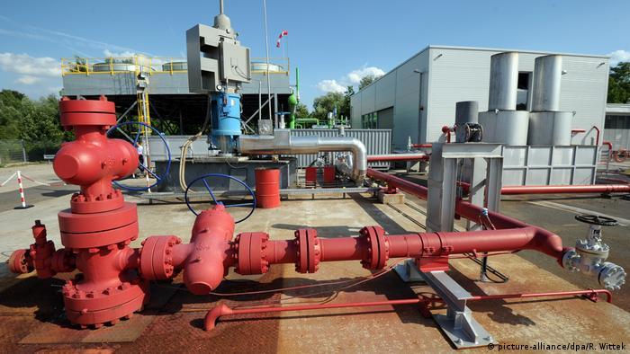 Instalación geotérmica en Alemania.
