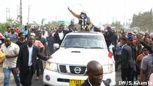 Äthiopien Tundu Lissu in Dar es Salaam