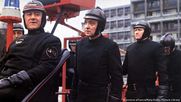 Imagen de la película Fahrenheit 451.