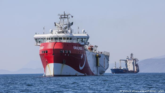 Streit um Erdgas im östlichen Mittelmeer (picture-alliance/dpa/AP/DHA/I. Laleli)