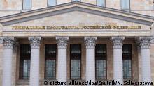 Russland Gebäude der Generalstaatsanwaltschaft der Russischen Föderation in Moskau