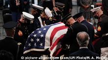 USA Gedenkgottesdienst des verstorbenen Kongressabgeordneten John Lewis