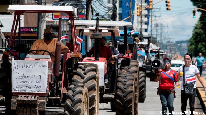Costa Rica Proteste gegen COVID-19-Maßnahmen