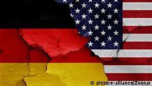 Symbolbild Deutschland-USA-Beziehung