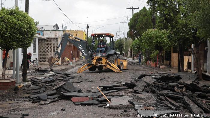 Mexiko Hurrikan Hanna (picture-alliance/ZUMAPRESS.com/El Universal )