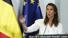 Belgien Coronavirus | Premierminister Sophie Wilmes