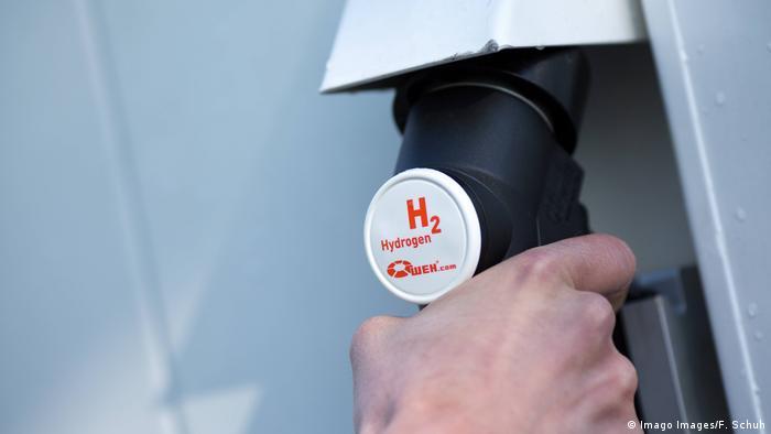 Foto ilustrasi bahan bakar hidrogen