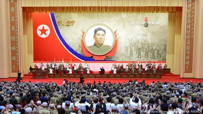 Jahrestag des Nordkorea-Krieges (picture-alliance/YONHAPNEWS AGENCY)