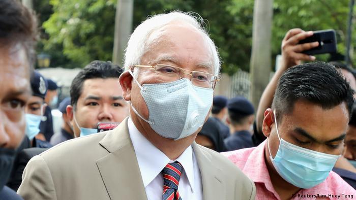 Malaysia Najib Razak vor Gericht in Kuala Lumpur