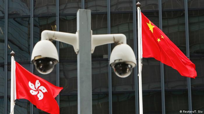Hongkong & Sicherheitsgesetz China |Chinesische Flagge