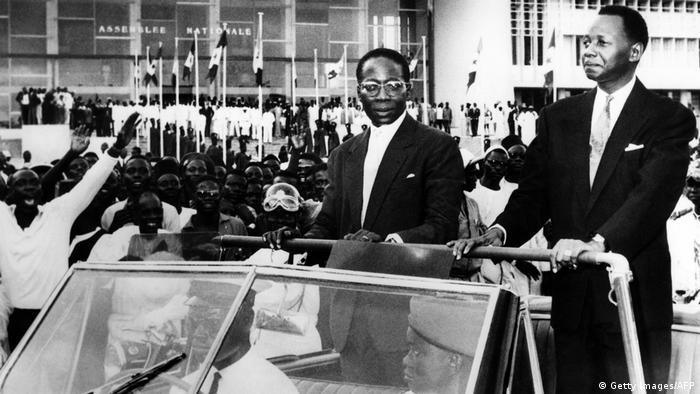 L'ancien président Léopold Senghor et l'ancien président du Conseil Mamadou Dia en septembre 1960 (Image/Archives)