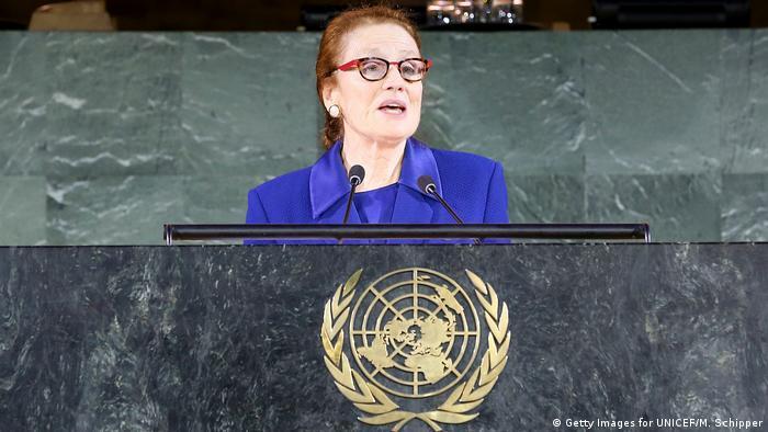 UNICEF-Direktorin Henrietta Fore