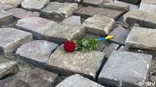 Ukraine Grabsteine bei Ausgrabungen entdeckt
