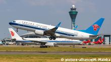Flugzeug I China Southern Airlines I Boeing 737-800 I Flughafen Guangzhou