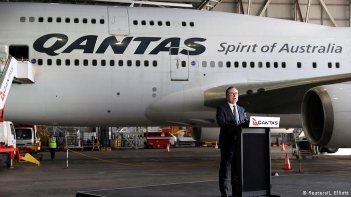 Australien Sydney | Qantas |Ausmusterung Jumbo 747 (Reuters/L. Elliott)