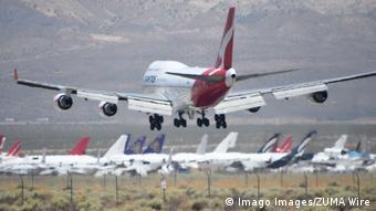 Прощальный рейс самолета Boeing 747 австралийской компании Qantas, 24 июля