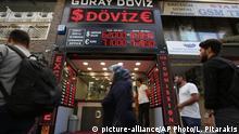 Türkei Istanbul | Geldwechselgeschäft | Türkische Wirtschaft