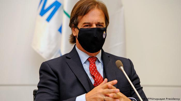 Uruguay Montevideo Präsident Luis Lacalle Pou