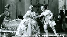 Salzburger Festspiele I Der Rosenkavalier I 1960