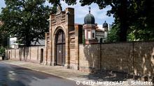 Deutschland Synagoge in Halle