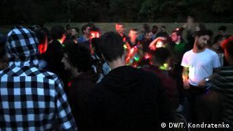 Αυθόρμητο πάρτι σε πάρκο του Βερολίνου