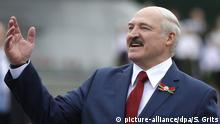 Alexander Lukashenko attends an event in Minsk, Belarus (picture-alliance/dpa/S. Grits)