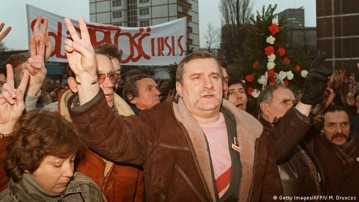 Demonstracja Solidarności 13 grudnia 1988