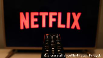 Streaming Plattform Netflix Logo (picture-alliance/NurPhoto/J. Porzycki)