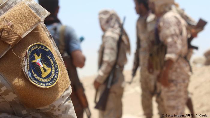 Jemen   Kämpfer/Unterstützer der STC (Getty Images/AFP/S. Al-Obeidi)