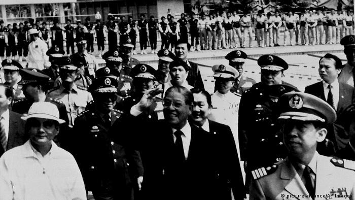 Taiwan Taipeh | Lee Teng-hui 1989 (picture-alliance/AP Images)