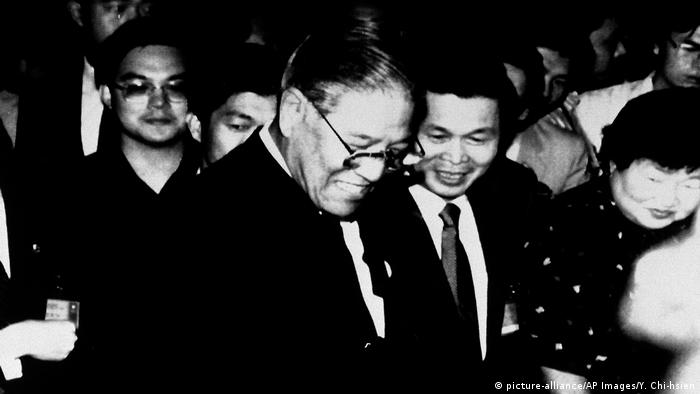 Taiwan Taipeh | Präsident Lee Teng-hui 1988 (picture-alliance/AP Images/Y. Chi-hsien)