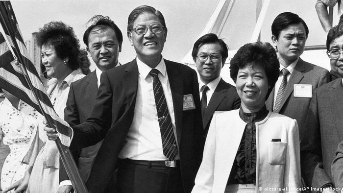 USA | Lee Teng-hui 1983 (picture-alliance/AP Images/Rock)