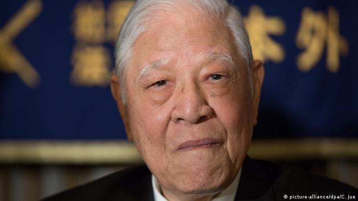 Japan Tokio   Taiwans ehemaliger Präsident Lee Teng-hui (picture-alliance/dpa/C. Jue)