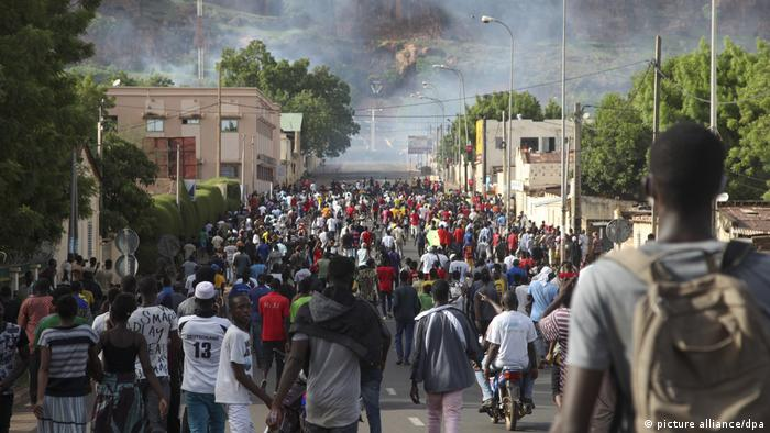 Mali Bamako | Proteste (picture alliance/dpa)