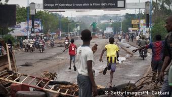 Les manifestations des 10 et 11 juillet à Bamako contre le pouvoir en place ont dégénéré (Getty Images/M. Cattani)
