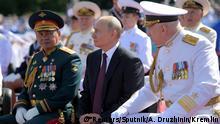 Russland | Tag der Marine | Putin kündigt Hyperschallwaffen für Kriegsschiffe an