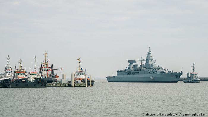 Alman Savunma Bakanlığı: Türkiye'nin itirazı üzerine arama durduruldu