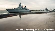 Deutschland Wilhelmshaven |Fregatte Hamburg der Bundeswehr