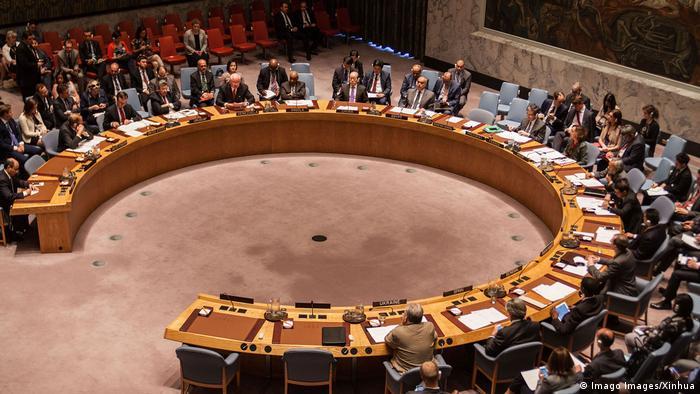UN-Sicherheitsrat New York 2016 |Waffenembargo Libyen (Imago Images/Xinhua)